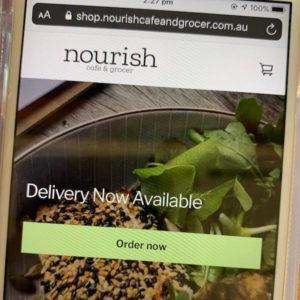 Order Online @ Nourish Cafe